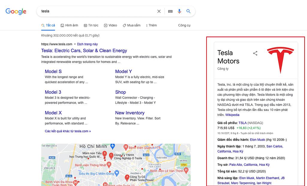 Tìm kiếm Tesla