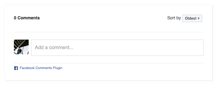 Bạn đã thêm thành công Comment Facebook vào website