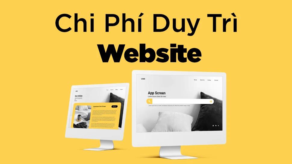 Chi Phí để duy trì website 2021
